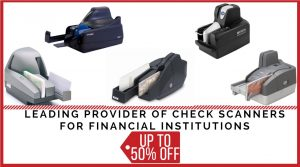 Banner image- leading provider of check scanners for financial institutions