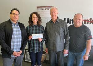 UniLink Employees donate to Bivona
